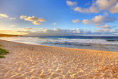 Tropical Oneloa Beach in Maui, Hawaii — Stock Photo