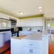 KItchen with bright windows and lots of empty room — Stock Photo #7807099