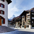 Zermatt, Swiss ski resort village. — Stock Photo #7883093