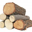 Six logs - Stock Photo