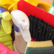 Foto Stock: Cleaning products