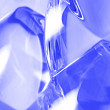 Abstract blue glass — Stock Photo