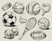 Sfondo sport — Vettoriale Stock
