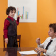 Little Manager — Stock Photo