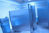 Public washroom stall — Stock Photo