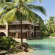 Stock Photo: Luxury tropical resort in South Goa
