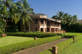 Colonial style resort in South Goa — Stock Photo