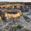 Hoodoo Badlands Alberta Canada — Stock Photo
