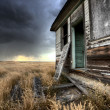 Abandoned Farmhouse Saskatchewan Canada - ストック写真