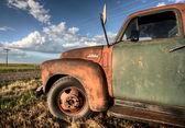 Vintage Farm Trucks — Stock Photo