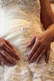 Wedding Dress Bodice — Stock Photo