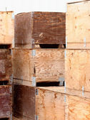 Potato Crates — Stock Photo