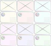 Envelope (mail) — Stock Vector