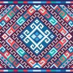 Ukrainian ethnic seamless ornament, #73, vector — Stock Vector