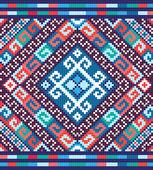 Ukrainian ethnic seamless ornament, #73, vector — Vector de stock