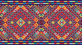 Ukrainian ethnic seamless ornament, #74, vector — Stok Vektör