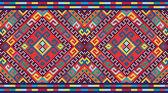 Ukrainian ethnic seamless ornament, #74, vector — Vector de stock
