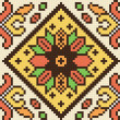 Ukrainian ethnic seamless ornament, #78, vector — Stok Vektör