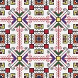 Cтоковый вектор: Ukrainiethnic seamless ornament, #77, vector