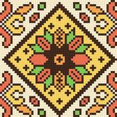 Ukrainian ethnic seamless ornament, #78, vector — Stock Vector