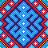 Ethnic slavic seamless pattern#10 — Stockvector