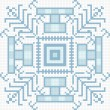 Ukrainian ethnic seamless ornament, #82, vector — 图库矢量图片