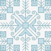 Ukrainian ethnic seamless ornament, #81, vector — Stock Vector