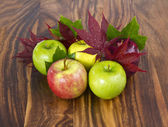 りんごを落下します。 — ストック写真