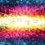 Calendar 2012, vector — Stock Vector #7365939