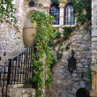 the old french village of eze — Stock Photo