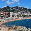 Lloret de Mar beach seascape — Stock Photo #7148127