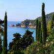 Mediterranean landscape — Stock Photo