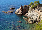 Lloret de Mar beach seascape — Stock Photo