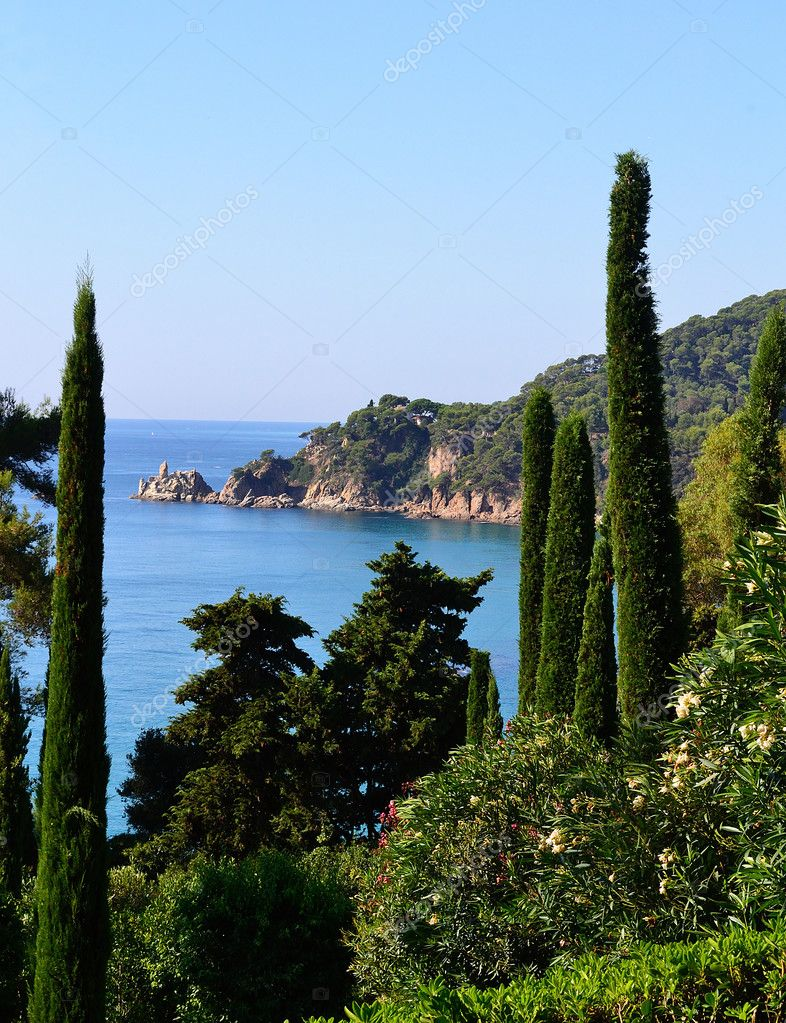Mediterranean landscape — Stock Photo #7148976