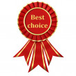 Red Ribbon Award - Stock Photo
