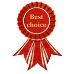 Red Ribbon Award — Stock Photo