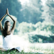 Lotus yoga — Stockfoto #6751989