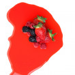 Royalty-Free Stock Photo: Berry mixed pile in syrup