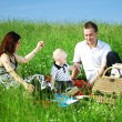 Family picnic — Stock Photo #6753191