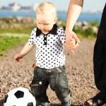 Boy play soccer — Stock Photo #6753268