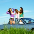 Friends in car — Stock Photo #6753985