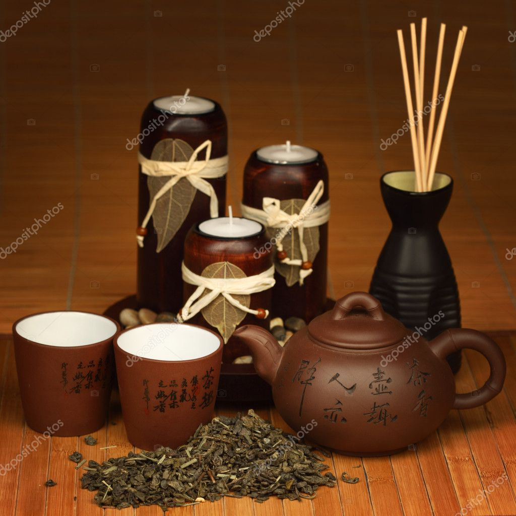 China tea background close up — Stock Photo #6752164