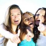 Success girlfriends — Stock Photo #6848847