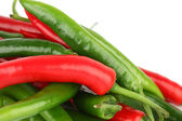 Mixed chilli pile — Stock Photo