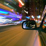 Night car drive — Stock Photo #6860270