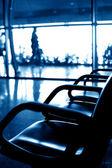 Sièges de l'aéroport — Photo