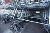 Carros de compras — Foto de Stock