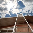 Ladder sky — Stock Photo