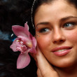 Orchid woman — Stock Photo #6906608