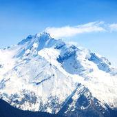 Top van bergen — Stockfoto